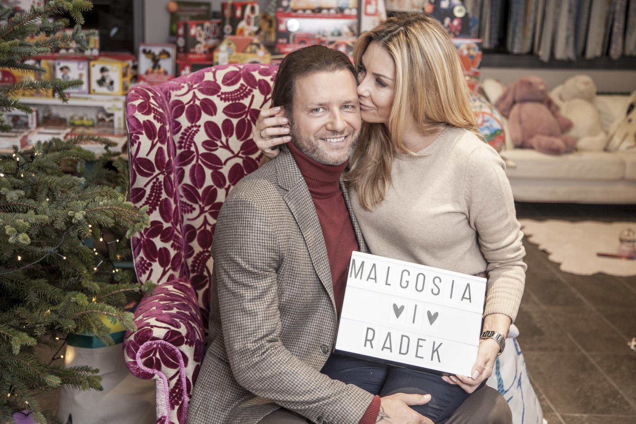 Małgorzata Rozenek-Majdan i Radosław Majdan